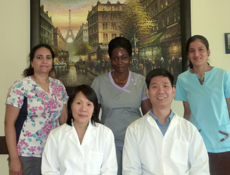 The dentists and staff of Maple Dental Care